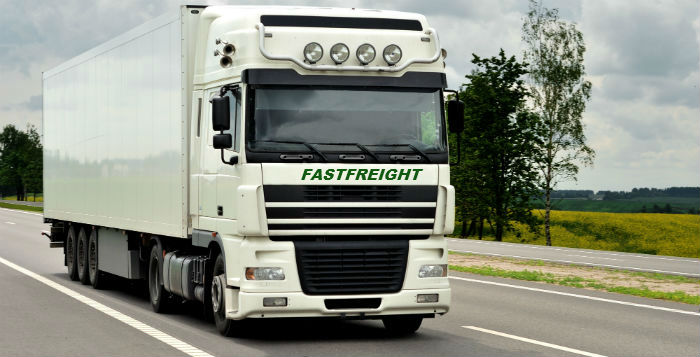 Fastfreight articulated truck