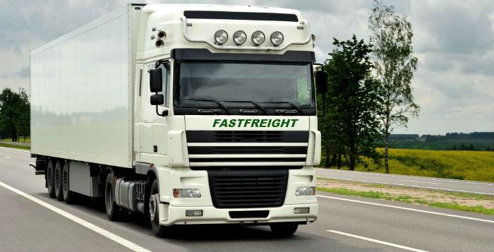 Fastfreight articulated truck